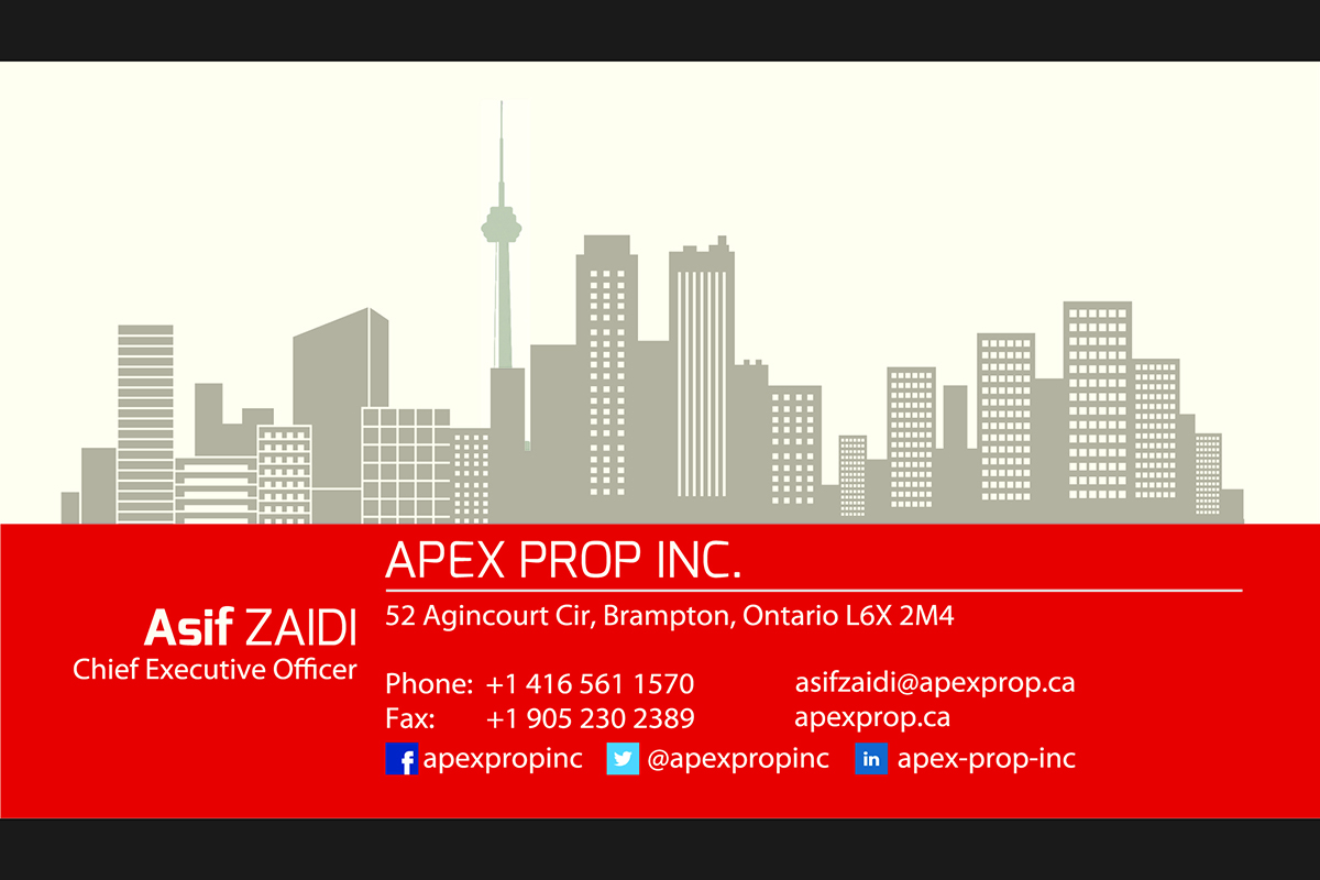ApexProp Business Card