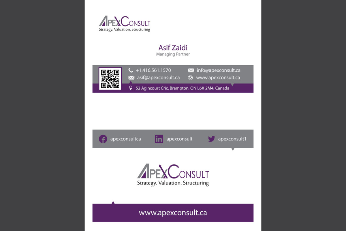 ApexConsult Business Card